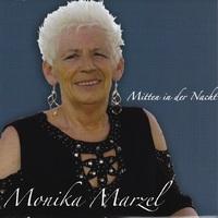 """Hallo, ich bin Monika Marcel. Endlich ist es soweit, mein erstes Album ist da """"Mitten in der Nacht"""". Ich habe schon in der Kindheit gerne gesungen und jetzt erst recht mit meinem ersten Album """"Mitten"""